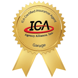 ICA Garage Insurance Badge