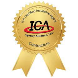ICA Contractor Insurance Badge