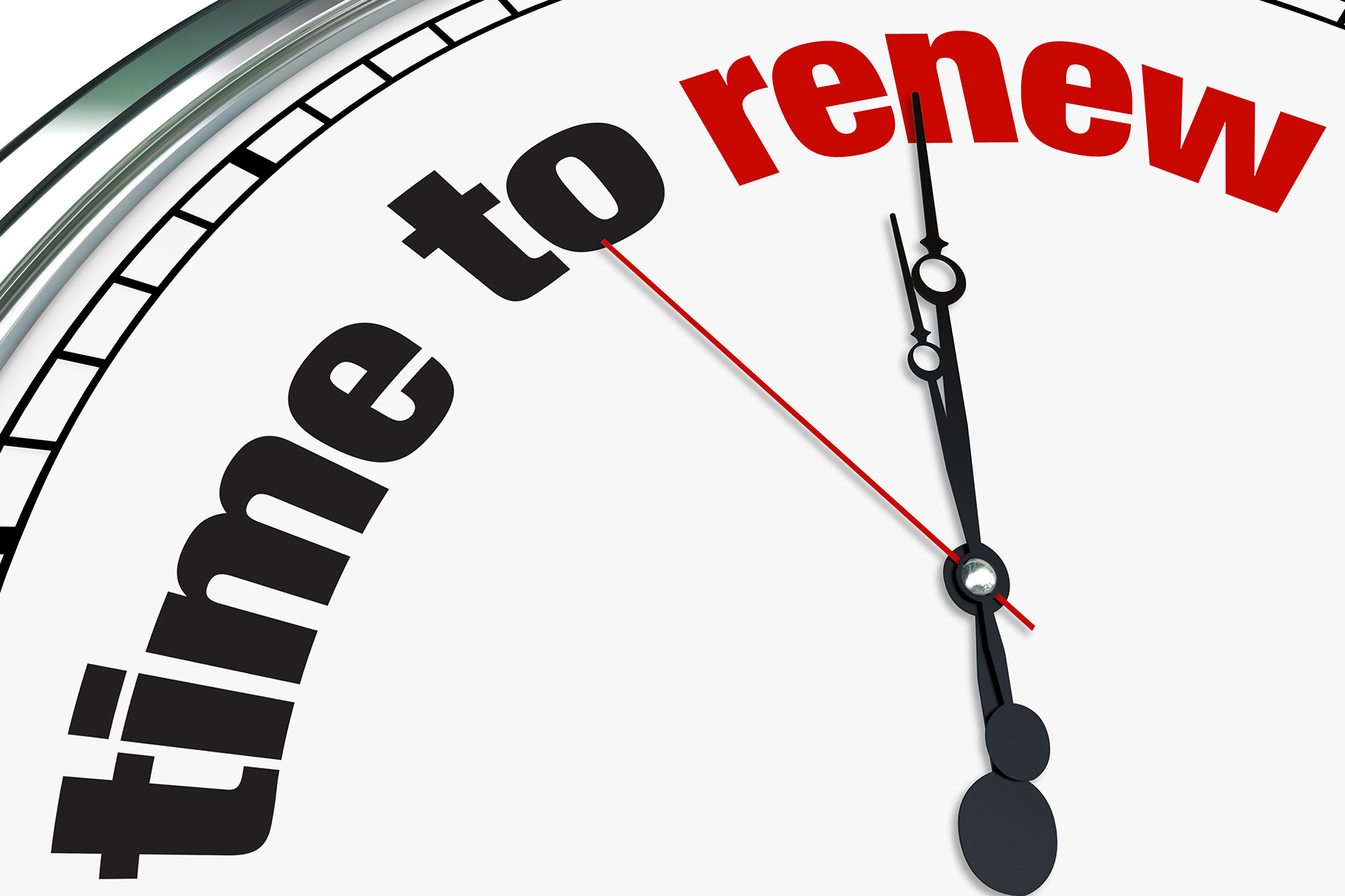 What to Do When it;s Renewal Time