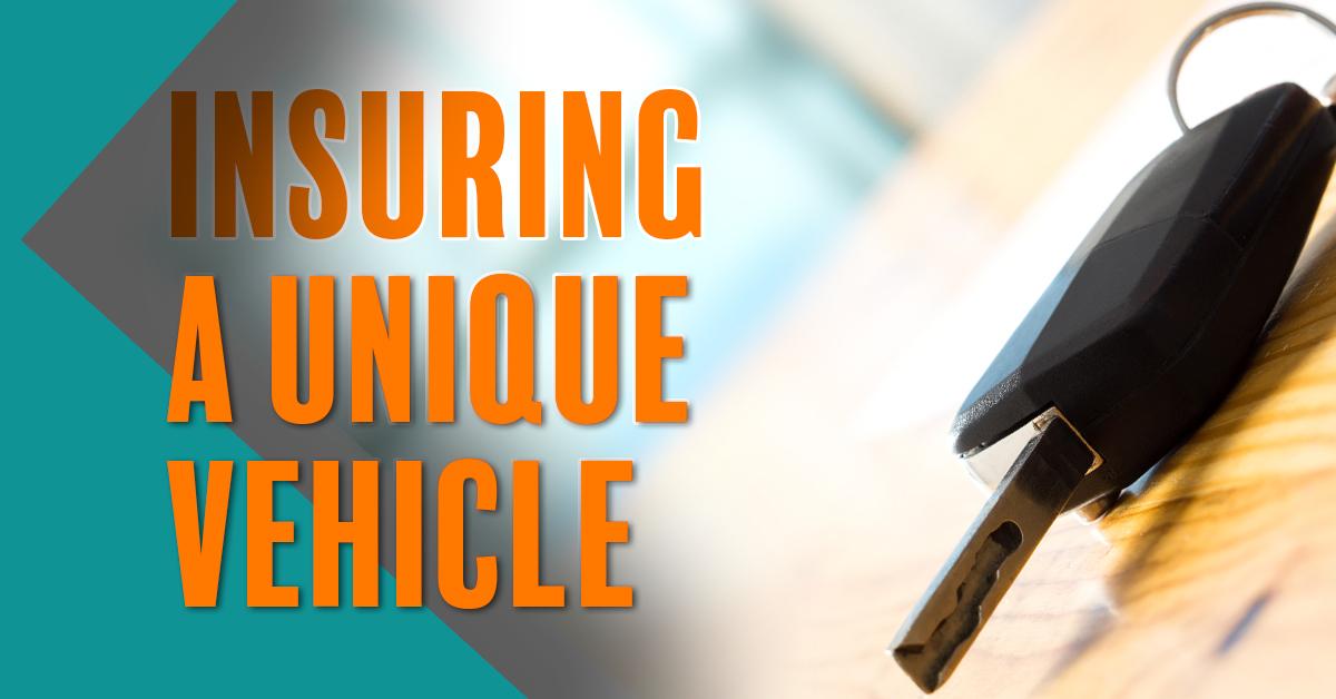 Insuring a Unique Vehicle_