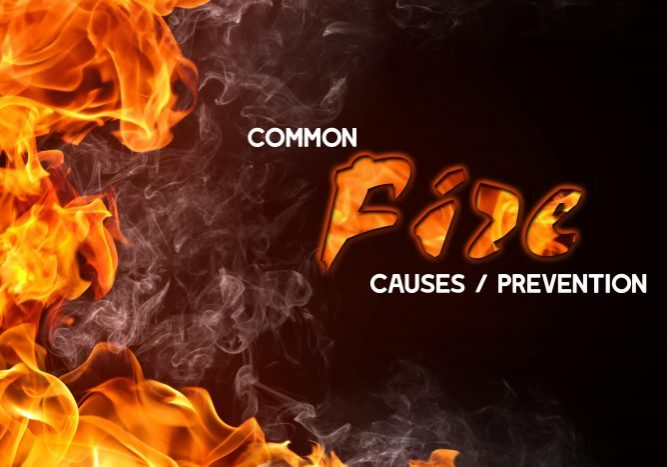 Common Fire Causes and Preventions-min