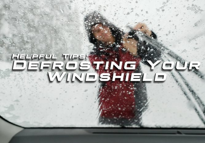 Defrosting Your Windshield