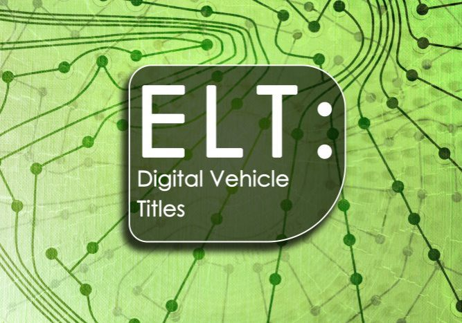 ELT Digital Vehicle Titles