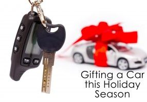 Gifting a Car this Holiday Season