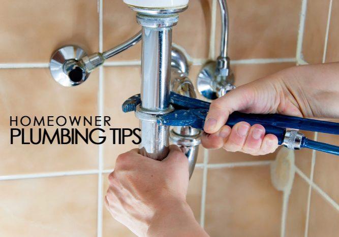 Homeowner Plumbing Tips