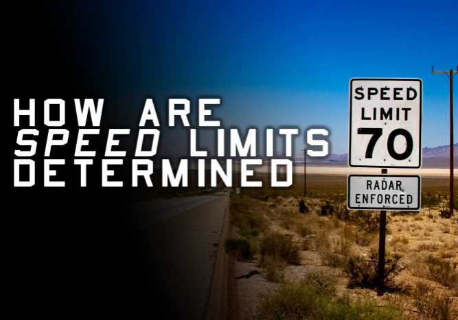 How Are Speed Limits Determined
