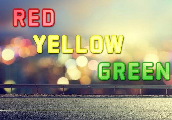 Red, Yellow, Green