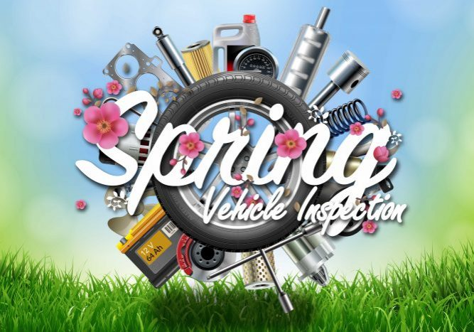 Springtime Vehicle Inspection!