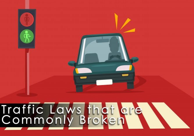 Traffic Laws that are Commonly Broken