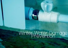 Winter Water Damage Prevention